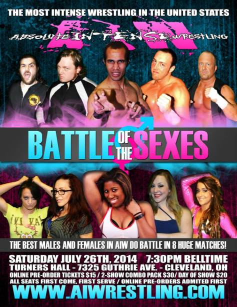 AIW 'Battle of the Sexes' Results!