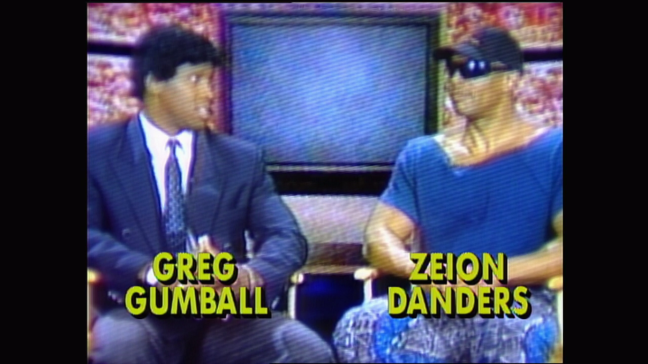 This is a shot of a promo for WWF Action Zone, poking fun at Talk Shows & only serving to make the WWF seem incredibly petty. no change there then.