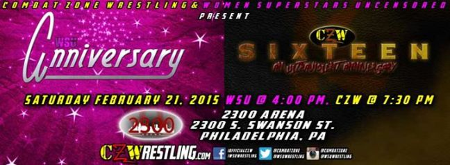 photo courtesy of CZW's Facebook page