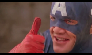 90s Captain America approves an Uatu the Watcher reference.