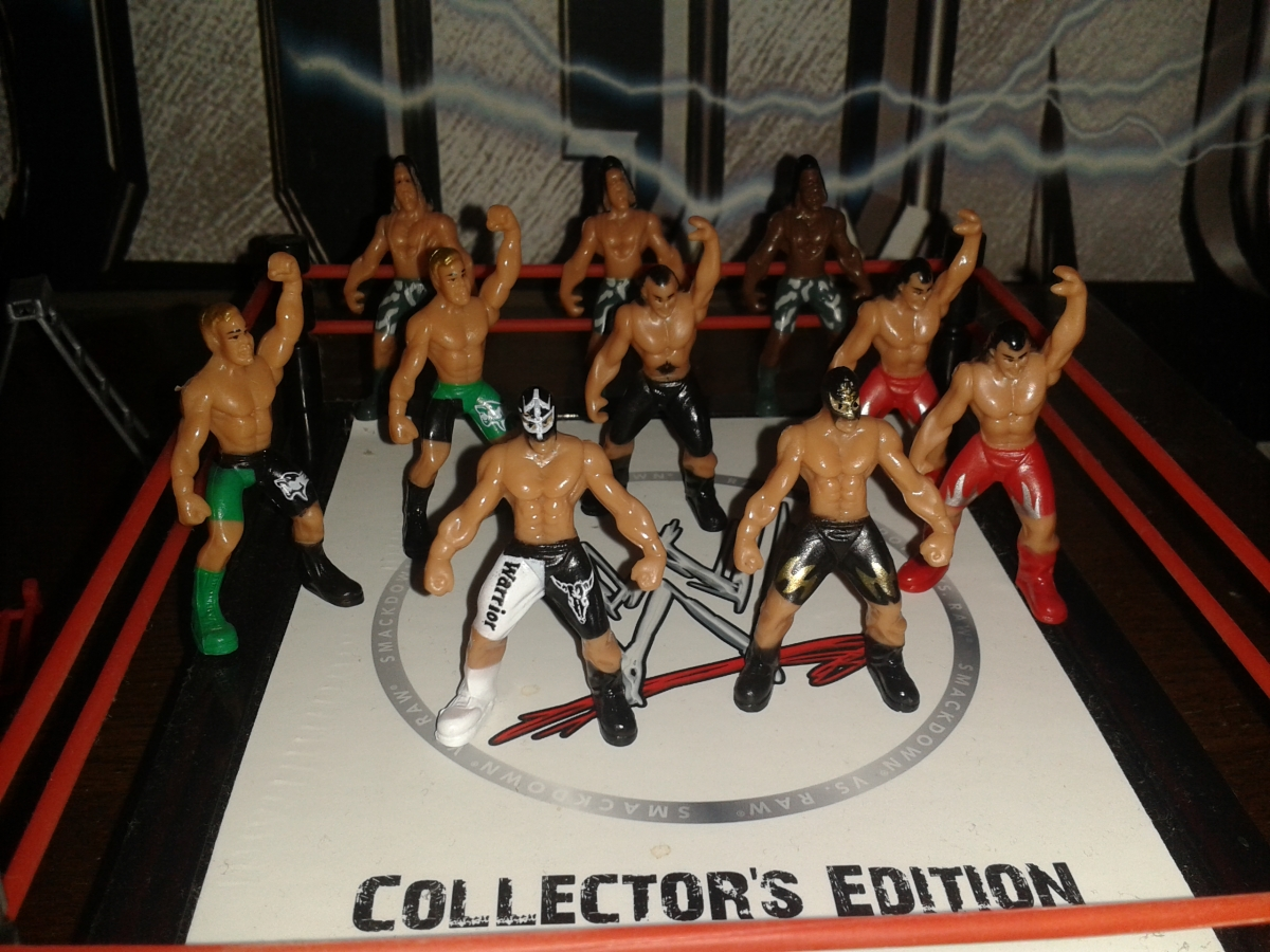 WWF: Woeful Wrestling Figures 4:Vanilla Midgets.
