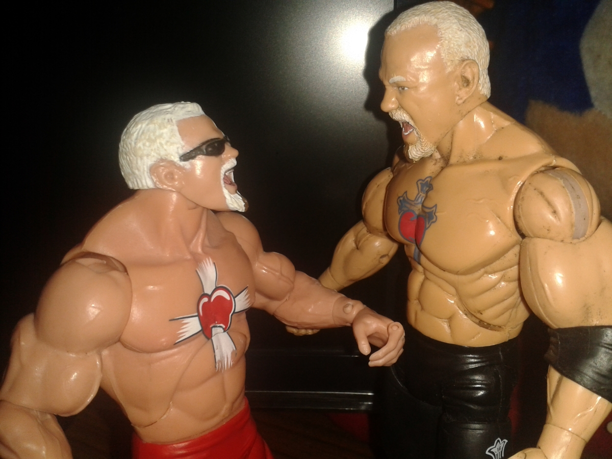 Woeful Wrestling Figures: Total Nonstop Action....Figures.