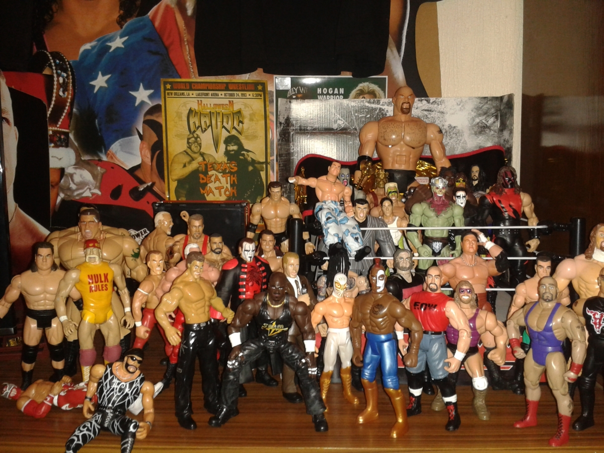 Woeful Wrestling Figures: 2016 A Toy Odyssey.
